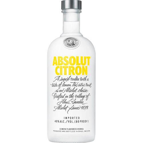 Absolut Vodka Citron Sueca 750ml