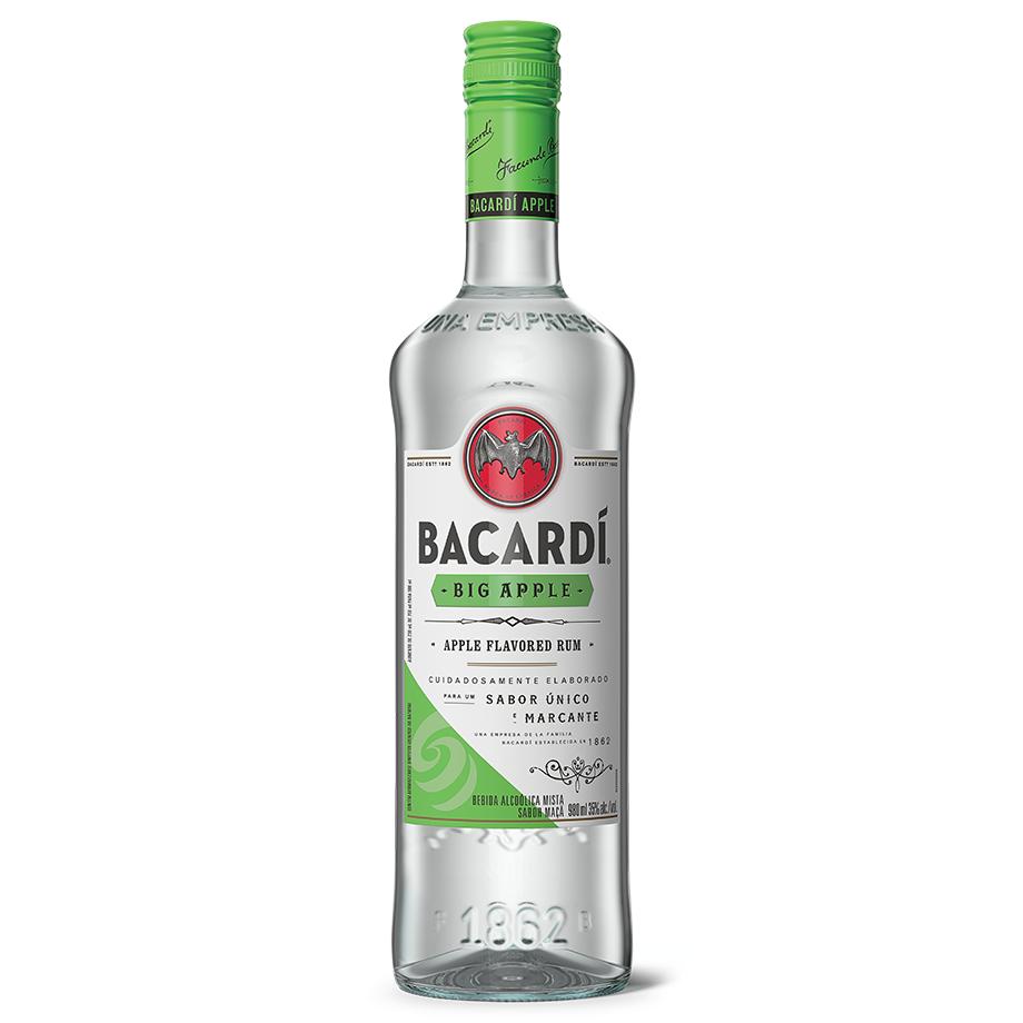 Bacardi Big Apple com Copo Personalizado Oficial