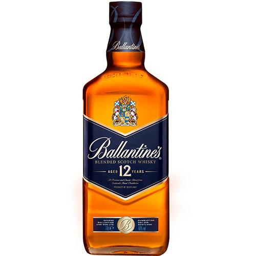 Ballantine's Whisky 12 anos Escocês 1L