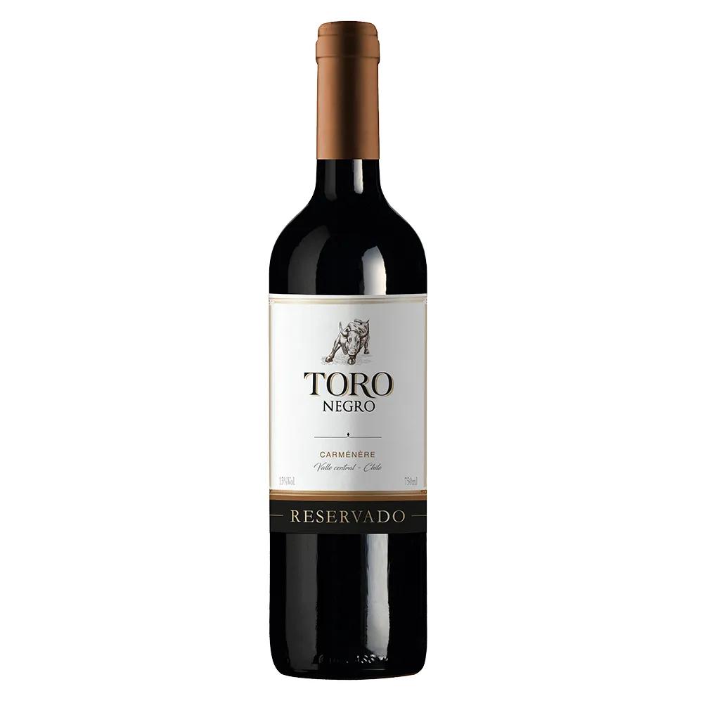 4Un Vinhos Toro Negro (Cabernet Sauvignon, Caménère, Merlot e Sauvignon Blanc)