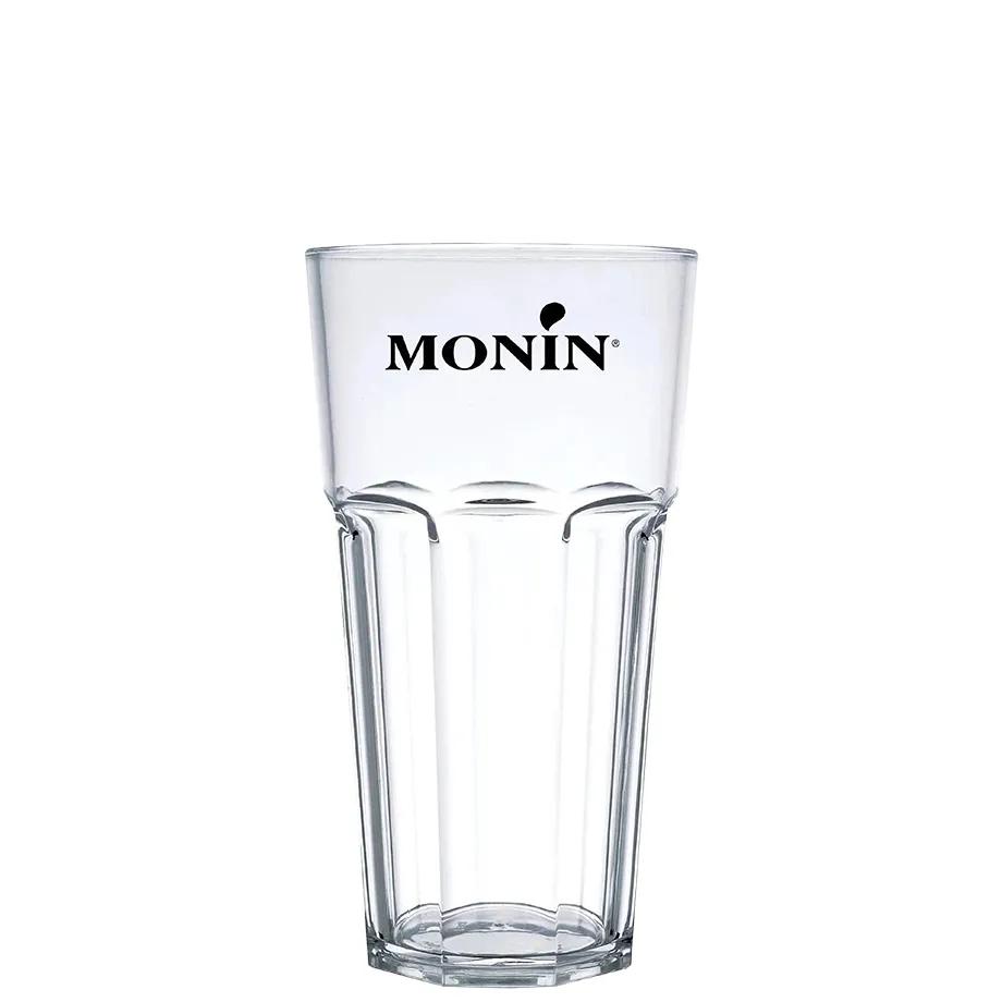 Ministry Silver 700ml, Mini Monin Maracuja 250ml, 6Un Tônica Schweppes 350ml e Copo Monin