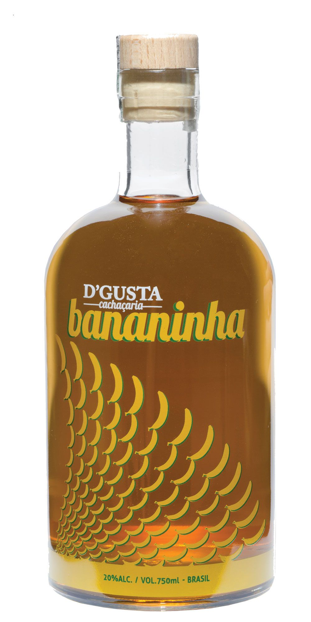 Cachaça D'Gusta Bananinha 750ml