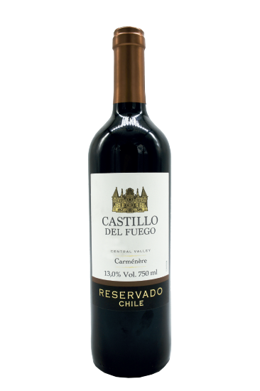 Castillo  Del Fuego Carmenere 750ML