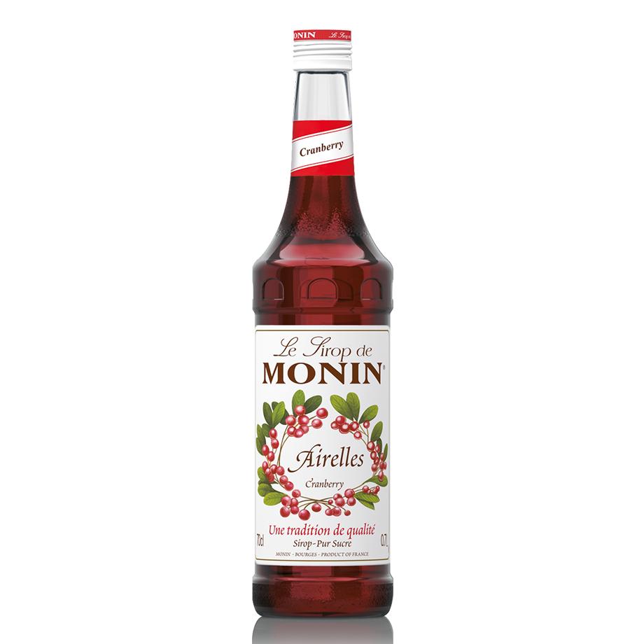 Cranberry Mix In House - Grey Goose 750ml, Monin Cranberry 700ml, Schweppes Tônica 6un 350m, Copo Monin e Dosador Monin