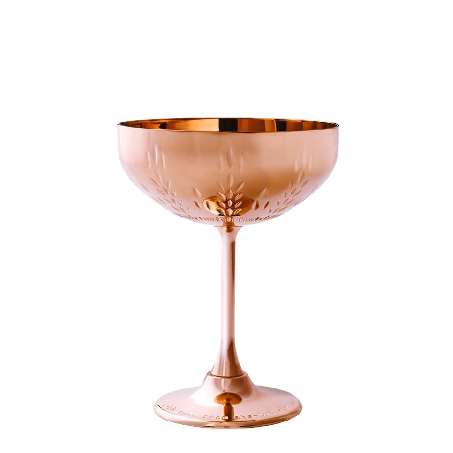 Drink In House - Absolut Elyx 750ml, Monin Tangerina 200ml, 6un London Essence Classic e Taça Oficial Bronze Premium