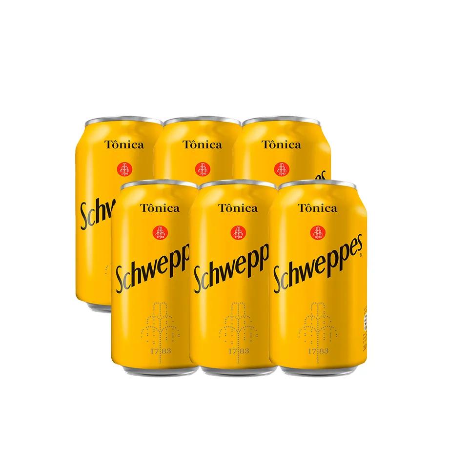 Drink in House - Bombay Sapphire 750ml, Monin Limão Siciliano 700ml, 2 Taças Acrílico Bombay Sapphire e 6un Tônica Schweppes 350ml