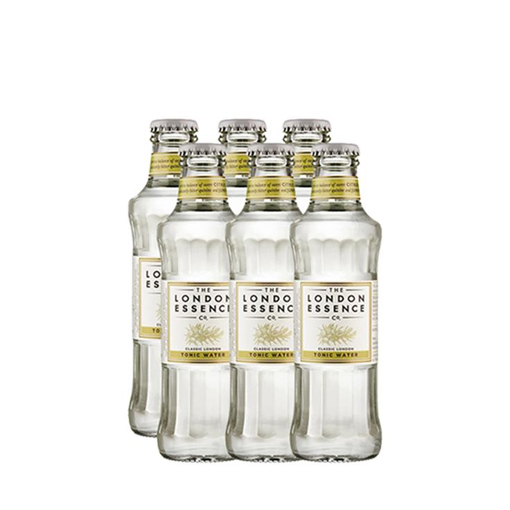 Drink In House - GreyGoose 750ml, Monin Falernum 700ml, 6un Tônica London Essence Classic, Taça Cristal Greygoose Oficial e Dosador Monin