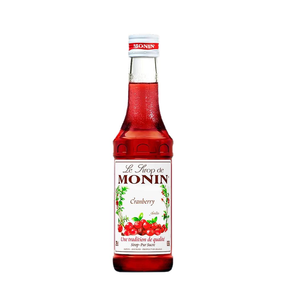 Gin Gordon's 750ml, Mini Monin Cranberry 250ml, Taça Vidro Gin, Dosador Monin com 6un Tônica Schweppes 350ml