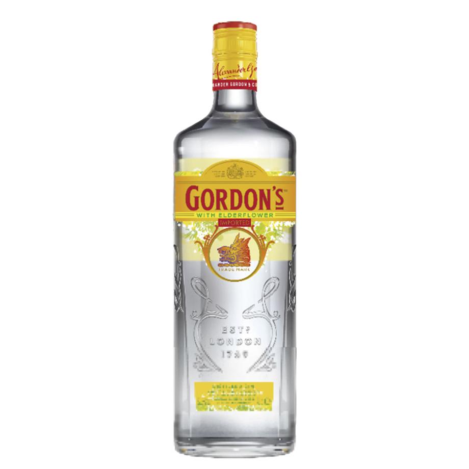 Gin Gordon's Elderflower 750ml