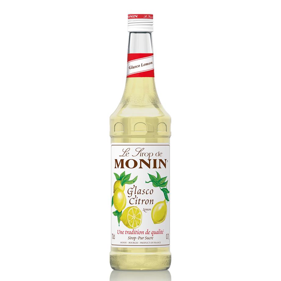 Gin Tônica - Bombay Sapphire 750ml, Monin Limão Siciliano 700ml, Schweppes Tônica 6un 350ml e Taça Oficial Cristal Bombay
