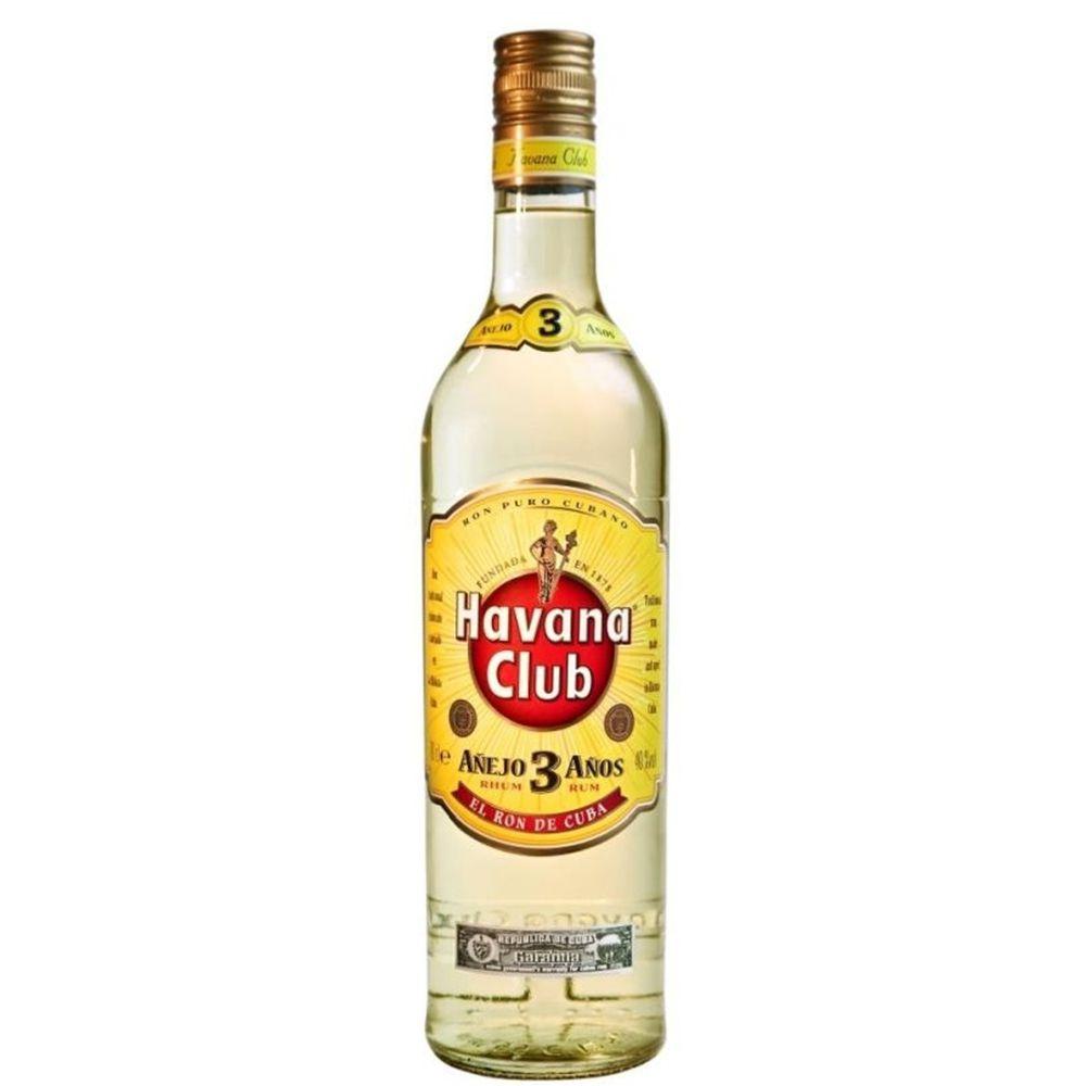 Havana Club Anejo Blanco 3 Anos 750ml