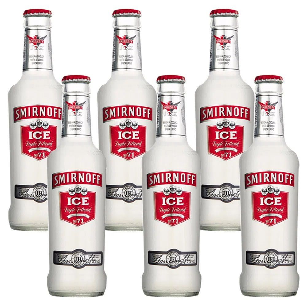 Ice Smirnoff Red Six Pack 6x275ml