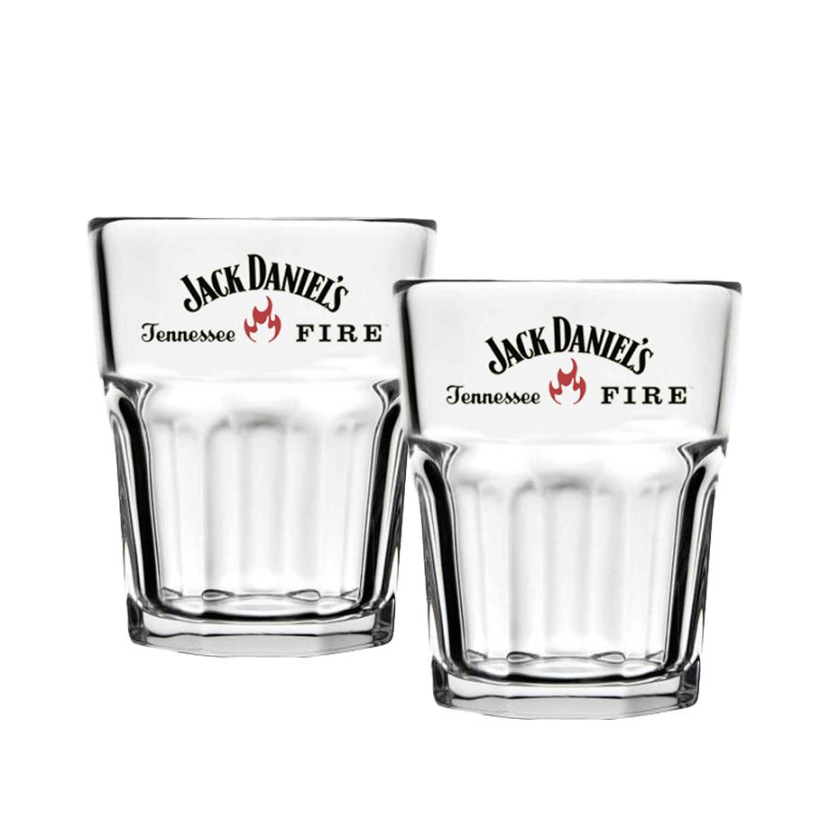 Jack Daniel's Fire 1L com 2un Copo Shot Jack Fire