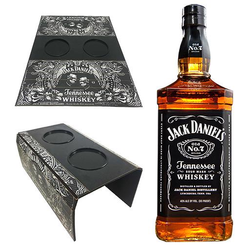 Jack Daniels Old NO.7 1L com Esteira de Sofá