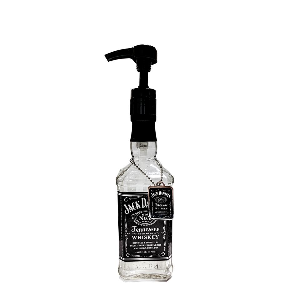 Jack Daniels Old NO.7 1L com Saboneteira Jack Daniel's Nº7