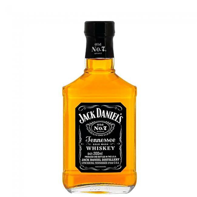 Jack Daniels Old Nº7  Petaca 200ml