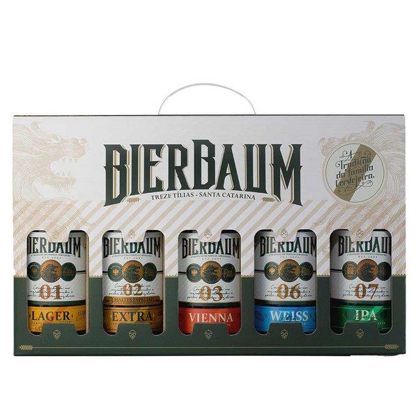 Kit Cervejas Artesanal Bierbaum 5 un