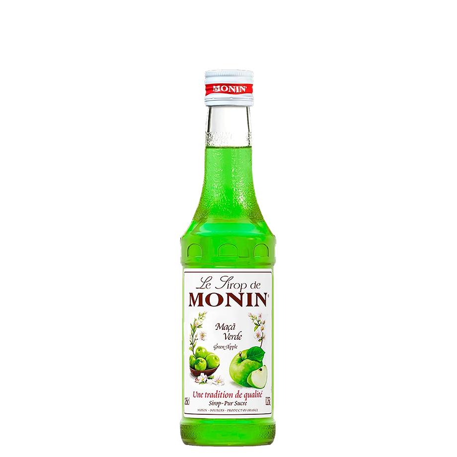 Kit Dia dos Pais - Gin Tanqueray, Mini Monin Maça Verde, Taça Gin Tanqueray, Dosador Monin com 6Un London Essence Classic