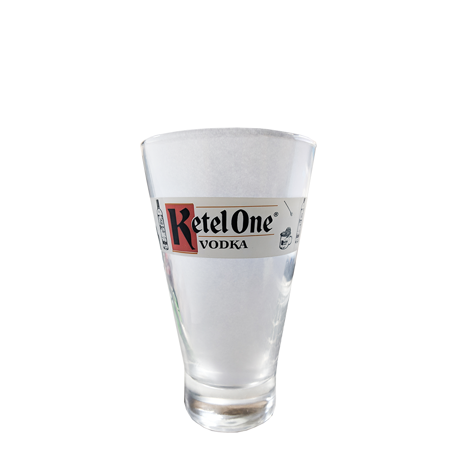 Vodka Ketel One 1L, Monin Mini Framboesa 250ml, Copo Copo Ketel One e 6un Schweppes Tônica 350ml