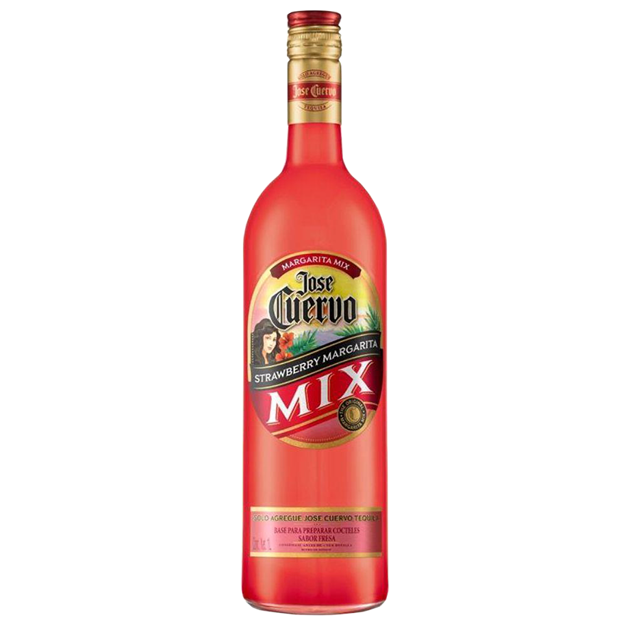 Kit José Cuervo Ouro e Taça Margarita com José Cuervo Mix Strawberry