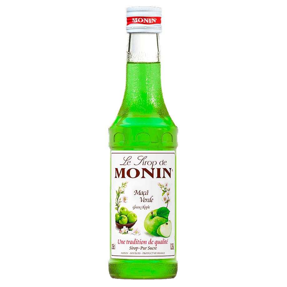Miniatura Monin Maça Verde 250ml
