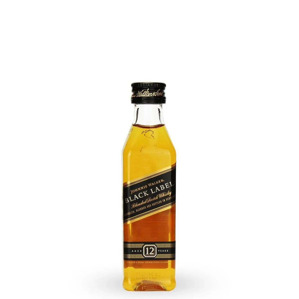 Miniatura Whisky Johnnie Walker Black Label 50ml