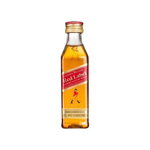 Miniatura Whisky Johnnie Walker Red Label 50ml