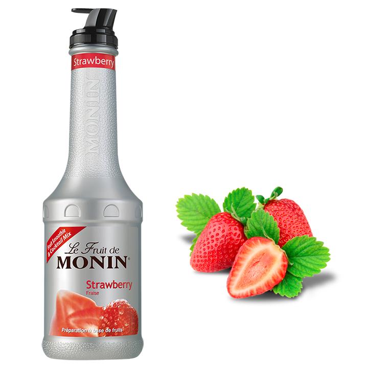Monin Pure De Morango  1lt