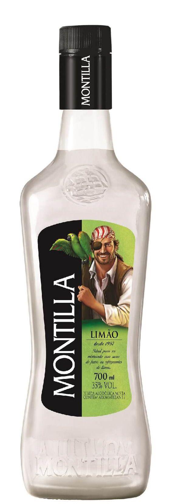 Montilla Limão Rum Nacional 700ml