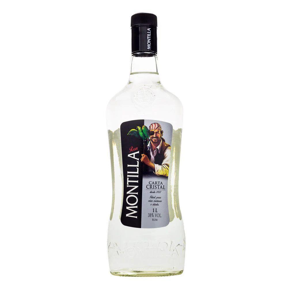 Montilla Carta Cristal Rum Nacional 1L