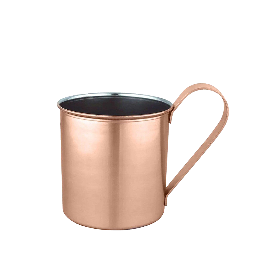 Moscow Mule Voxx In House - Vodka Voxx 900ml, Espuma de Gengibre Easy Drink 200g, Moscow Mule Easy Drink 270g e Caneca Moscow Mule Lisa