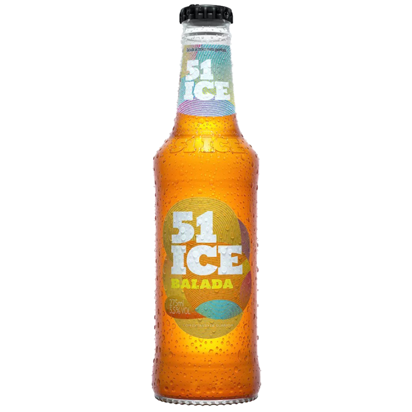 Pack 51 Ice Balada Guaraná 6un x 275ml