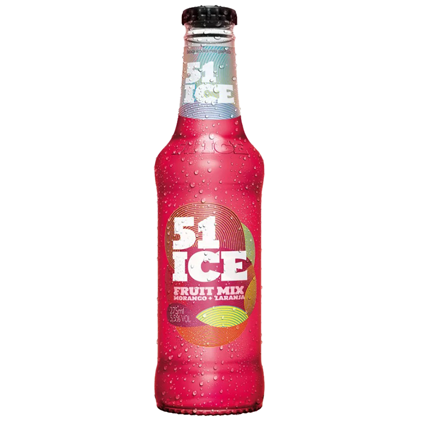 Pack 51 Ice Fruit Mix 6un x 275ml