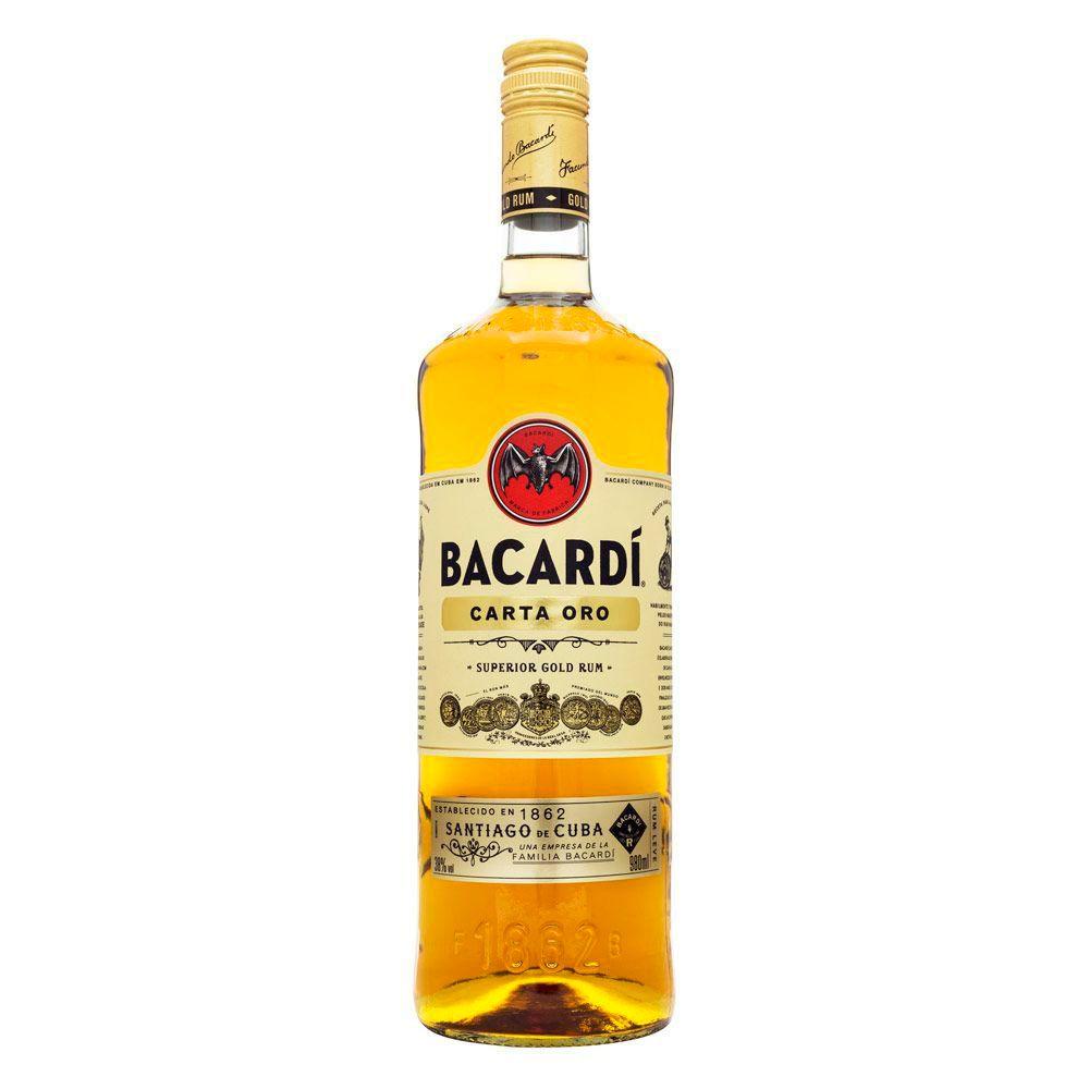 Rum Bacardi Carta Ouro 980ml