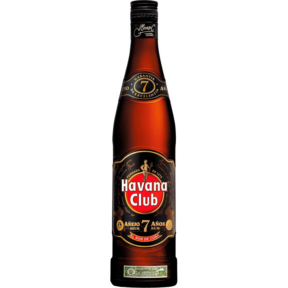 Rum Havana Club 7 Anos Anejo 750ml