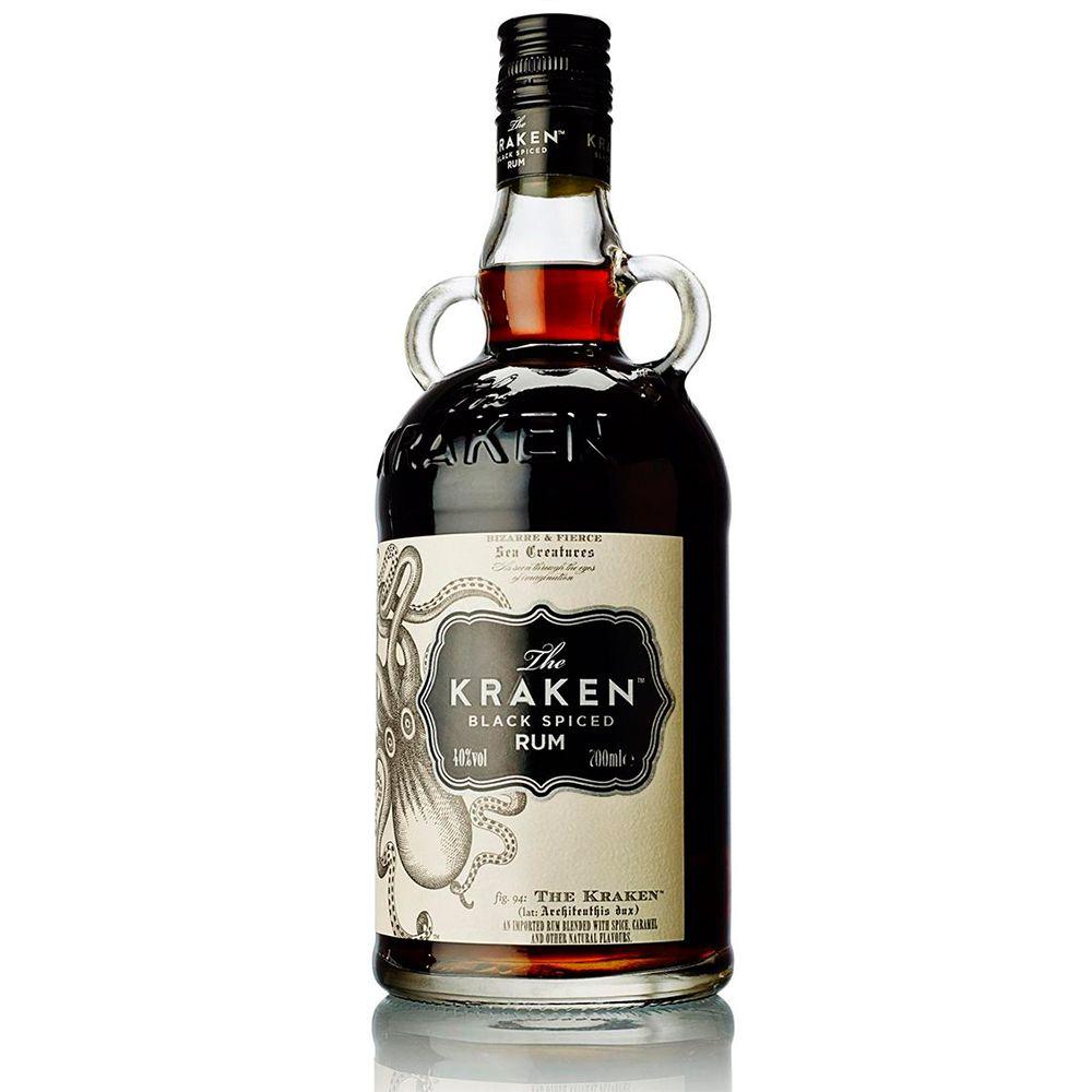 Rum The Kraken Black Spiced 750ml