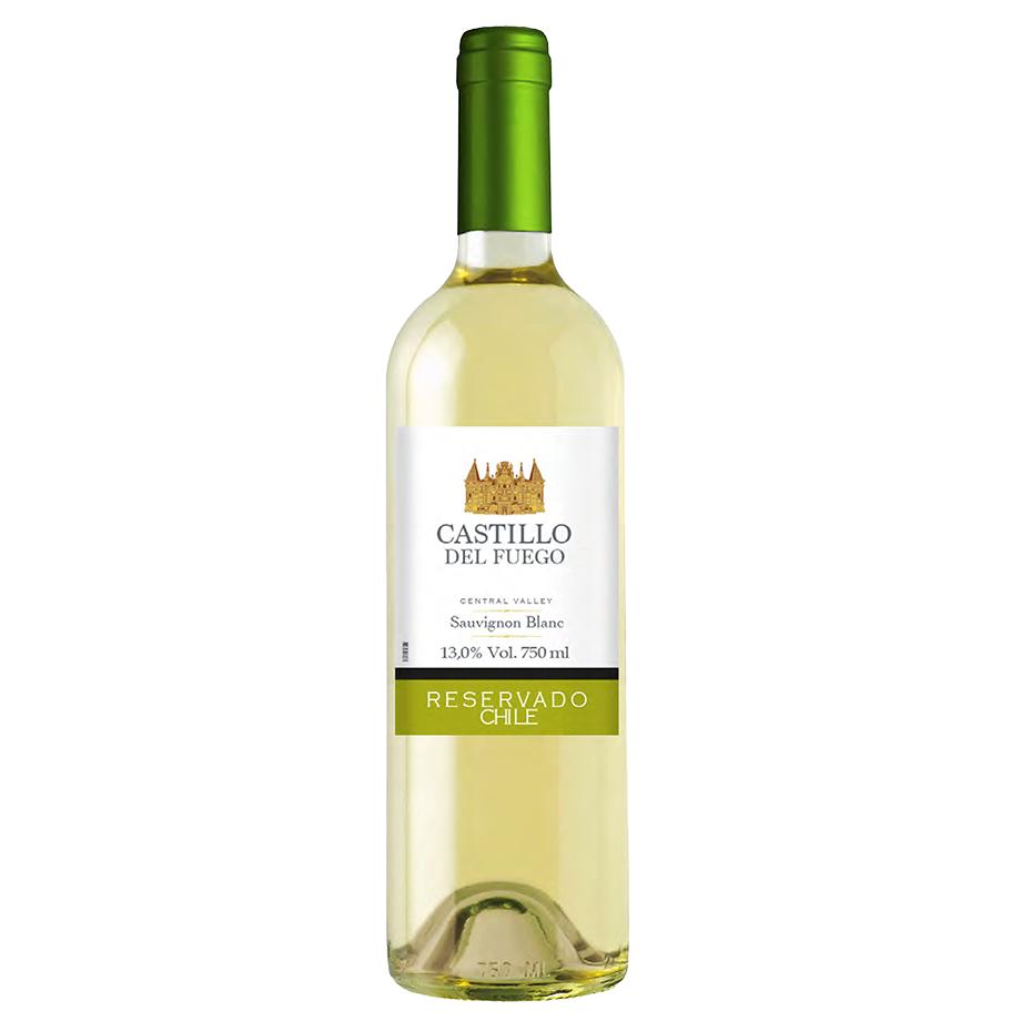 Seleção Vinhos Chilenos - Castillo del Fuego Sauvignon Blanc 750ml, Paskua Merlot 750ml, Rapa Nui Rosé 750ml e Toro Negro Cabernet Sauvignon 750ml