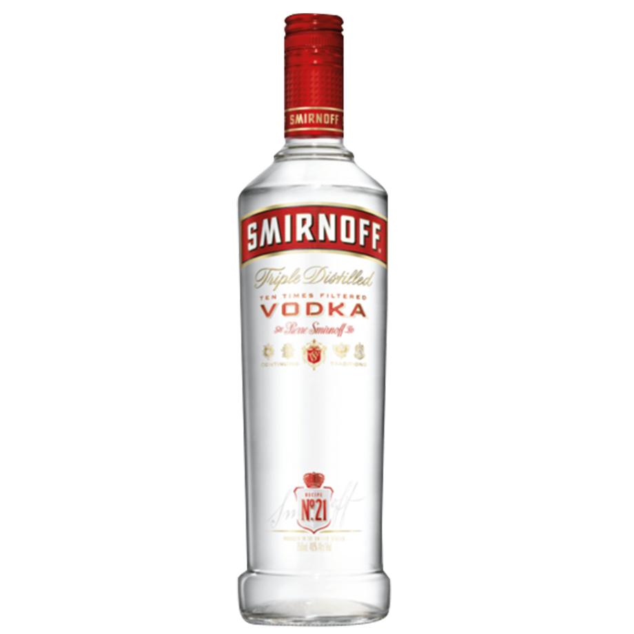 Smirnoff 1L com 6un de Tônica Prata