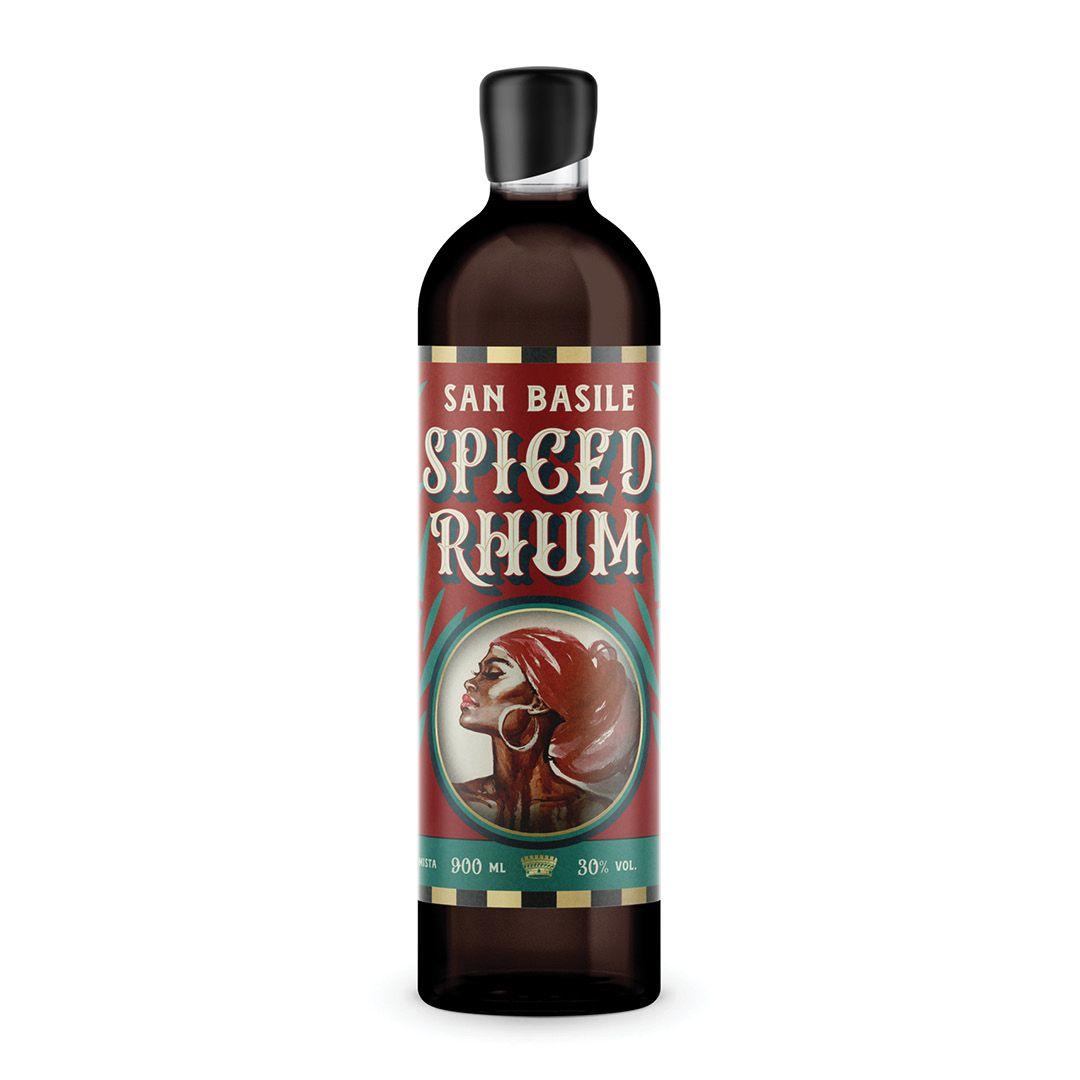 Spiced Rhum San Basile 950ML