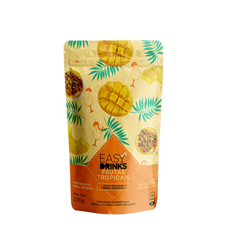 Tanqueray 750ml, Taça Tanqueray Oficial Vidro, 3Un Easy Drink (Frutas Vermelhas, Frutas Tropicais e Pitaya / Morango)