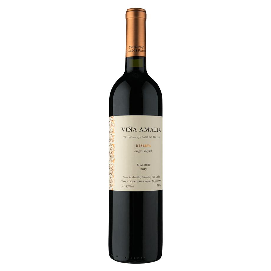 Vinho Viña Amalia Reserva Malbec 750ml