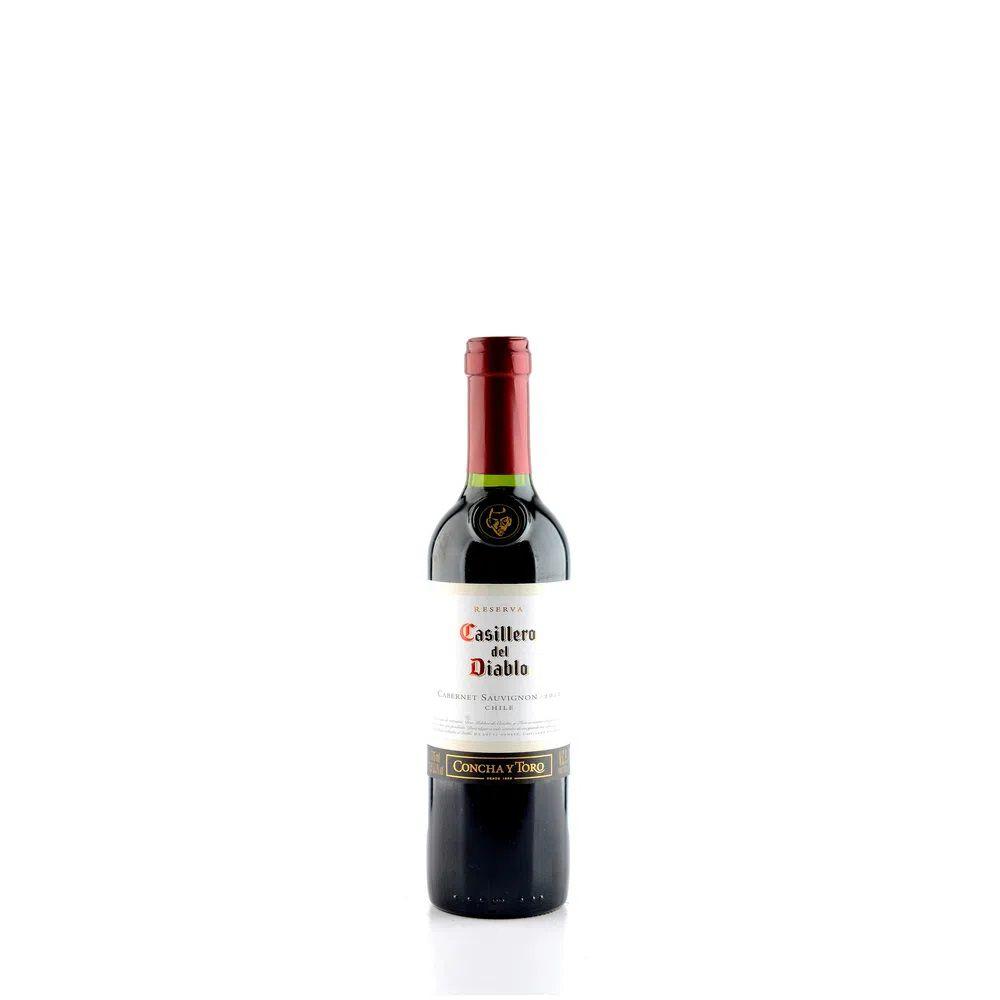 Vinho Casillero Del Diablo Cabernet Sauvignon 375Ml