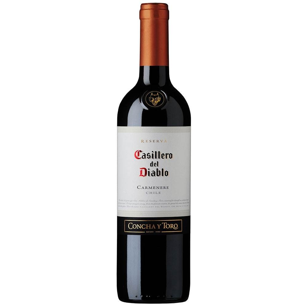 Vinho Casillero Del Diablo Carmenere  750Ml