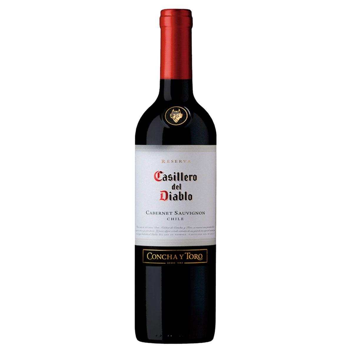 Vinho Casillero Del Diablo Reserva Cabernet Sauvignon 750ml