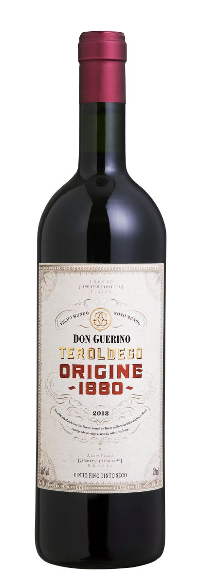 Vinho Don Guerino Teroldego Origine 1880 750ml