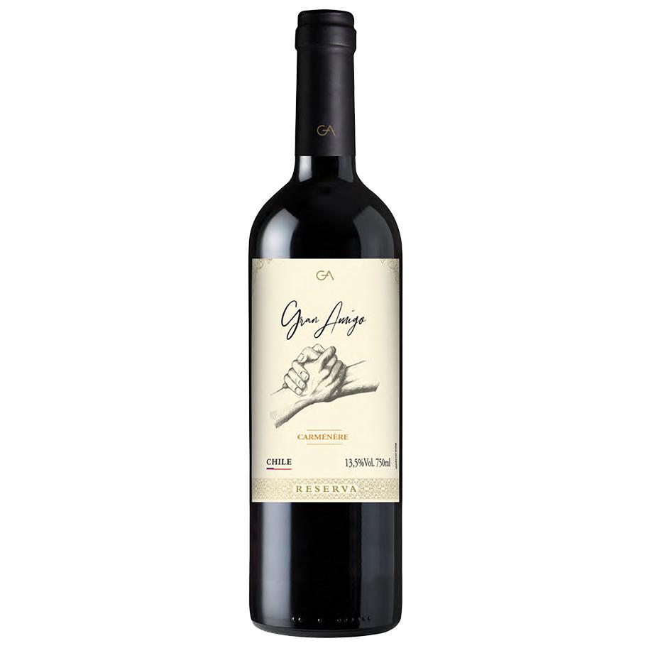 Vinho Gran Amigo Reserva Carménère 750ml