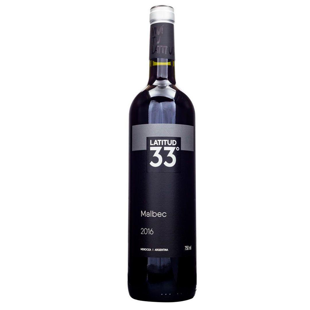 Vinho Latittud 33 Malbec 750ml