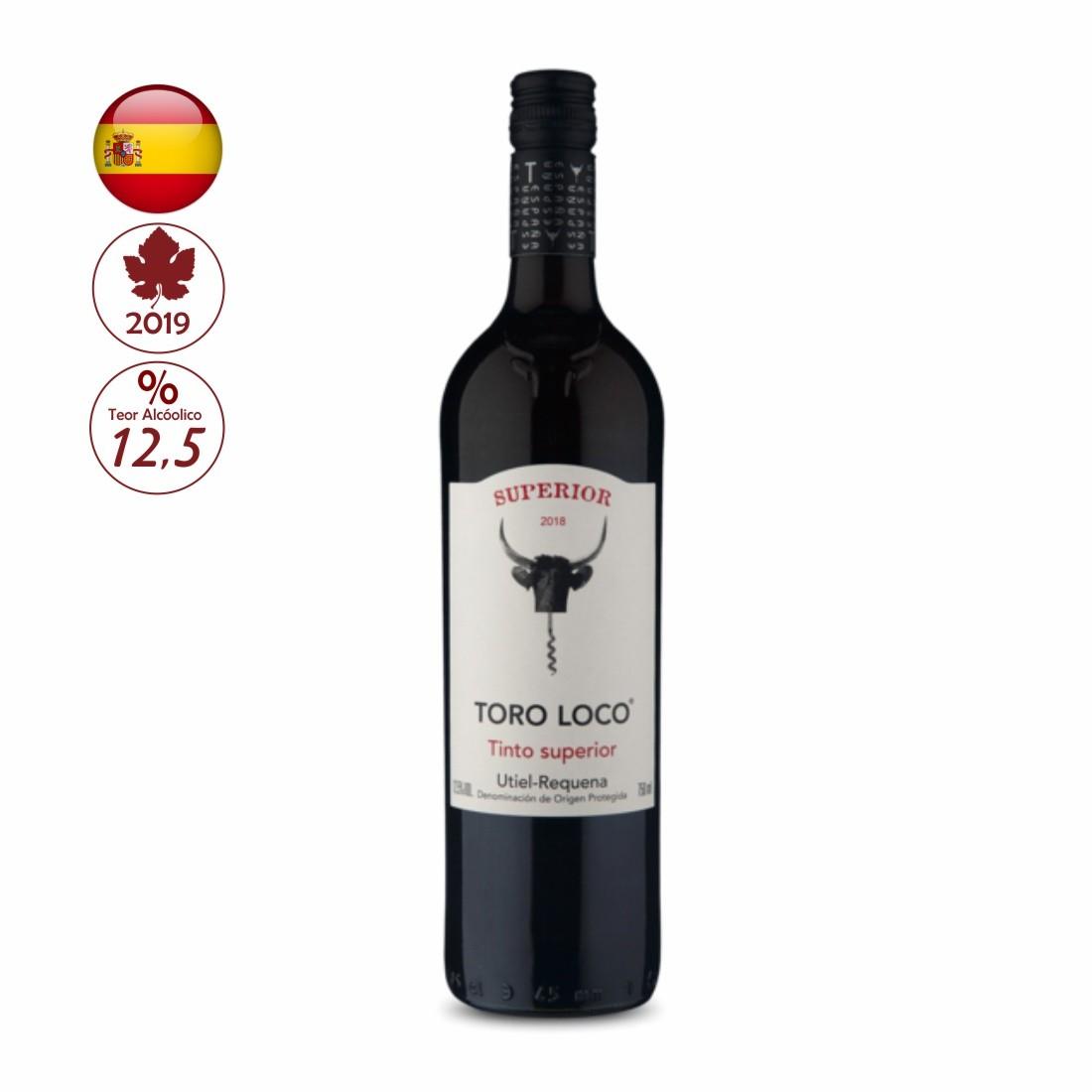 Vinho Toro Loco Superior 750ml