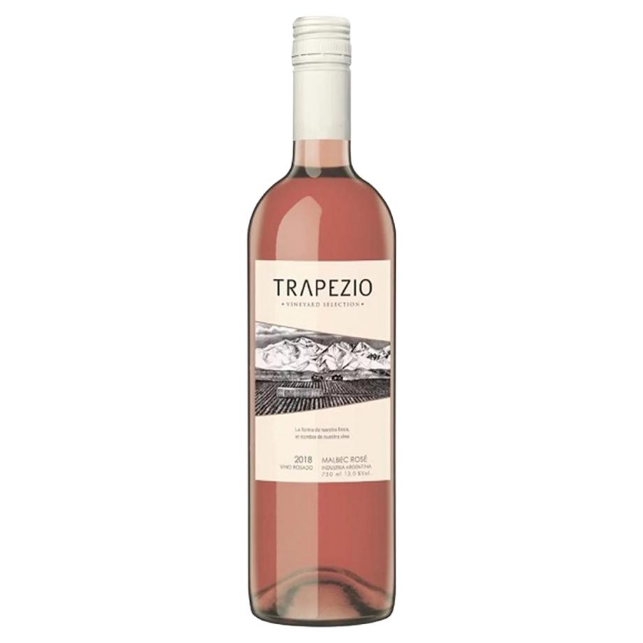 Vinho Trapezio Malbec Rosé 750ml