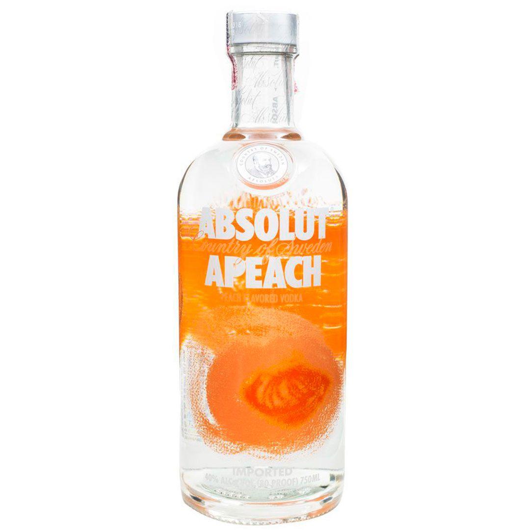 Absolut Vodka Apeach Sueca 750ml